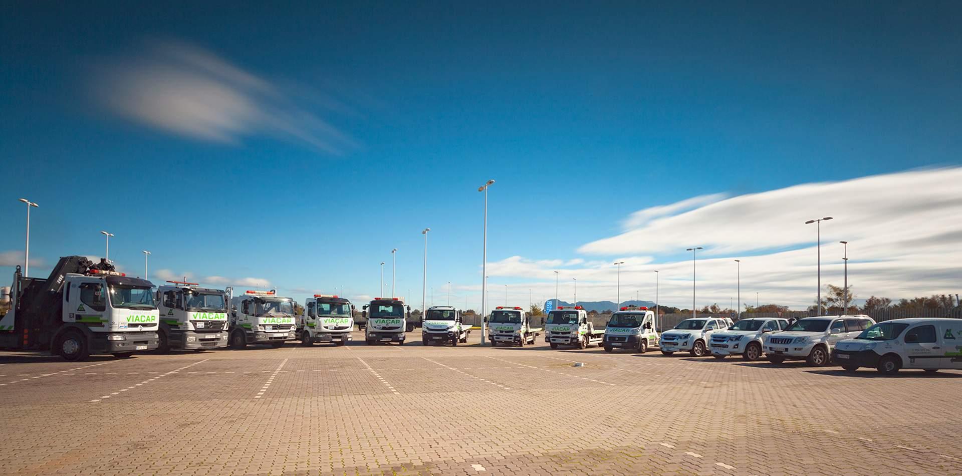 Imagen de Transporte agrupado de vehículos